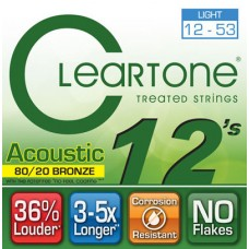 CLEARTONE 7612 ACOUSTIC 80/20 BRONZE LIGHT 12-53 Струны