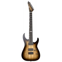 ESP E-II M-II-7 NT (Dark Brown Natural Burst) Электрогитара семиструнная