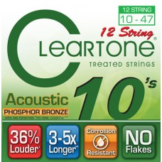 CLEARTONE 7410-12 ACOUSTIC PHOSPHOR BRONZE 12-STRING ULTRA LIGHT 10-47 Струны