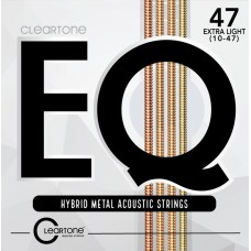 CLEARTONE 7810 EQ HYBRID METAL ACOUSTIC ULTRA LIGHT 10-47 Струны для гитары