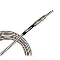 DIMARZIO EP1715SSSM METALLIC INSTRUMENT CABLE 15ft (CHROME) Кабель гитарный