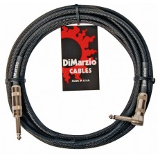 DIMARZIO EP1710SR INSTRUMENT CABLE 10ft (BLACK) Кабель гитарный