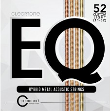 CLEARTONE 7811 EQ HYBRID METAL ACOUSTIC CUSTOM LIGHT 11-52 Струны для гитары