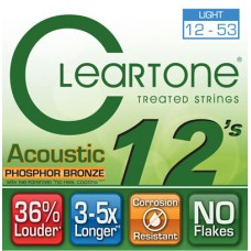 CLEARTONE 7412 ACOUSTIC PHOSPHOR BRONZE LIGHT 12-53 Струны