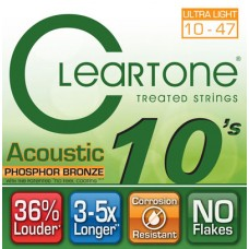 CLEARTONE 7410 ACOUSTIC PHOSPHOR BRONZE ULTRA LIGHT 10-47 Струны