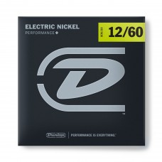 DUNLOP DEN1260 ELECTRIC NICKEL PERFORMANCE+ 12-60 Струны для электрогитары